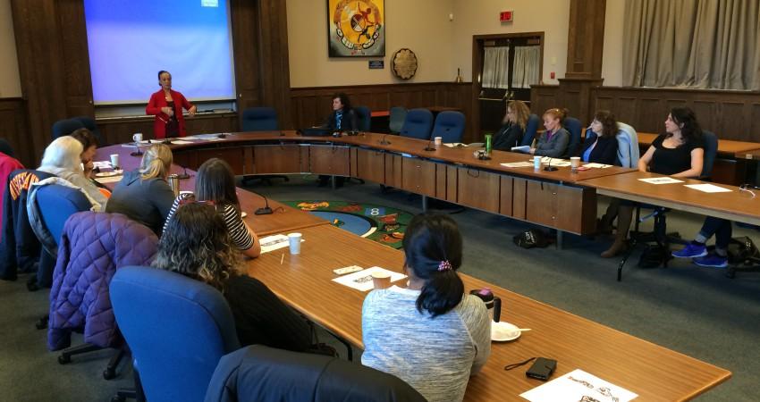 Staff Workshop with Nella Nelson SD61 Aboriginal Coordinator