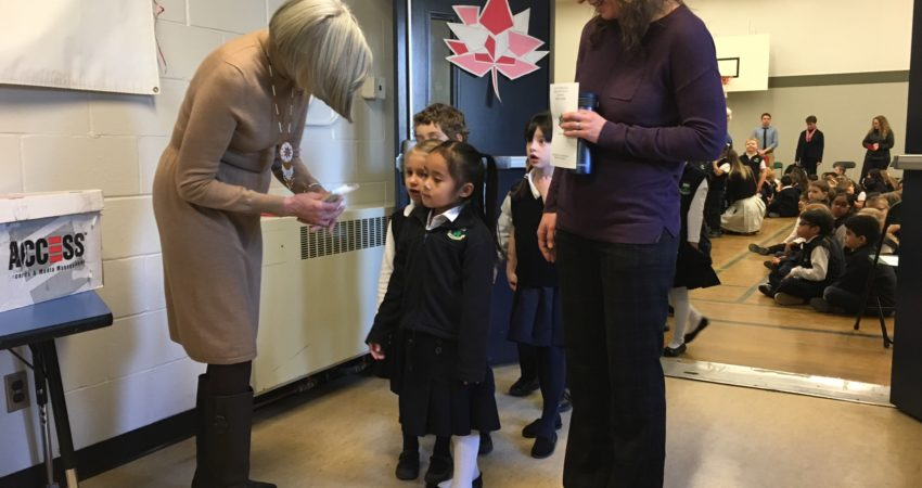 Lt Governor visit to our school February 2017