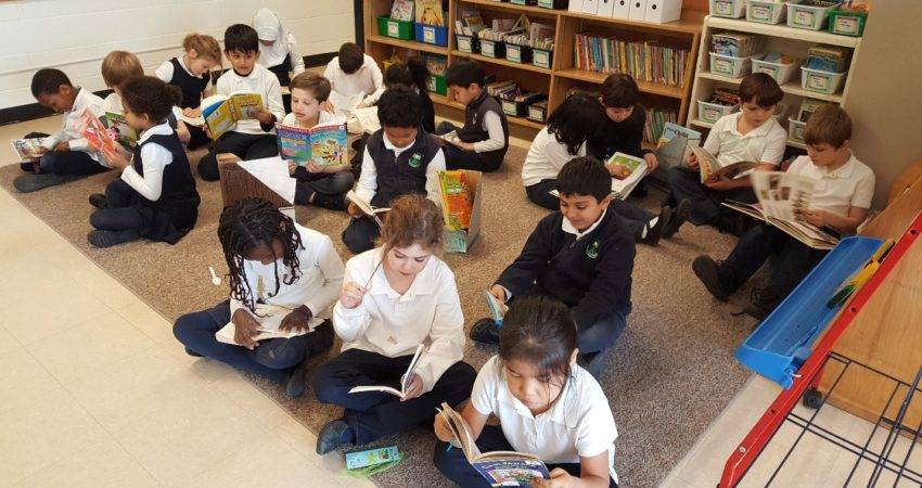 We read every day!