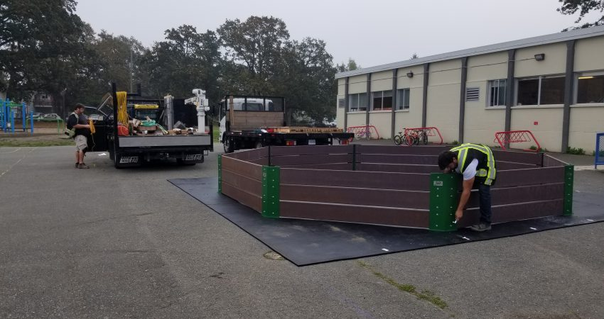 Gaga Pit – Thank you SD 61 Facilities for the install